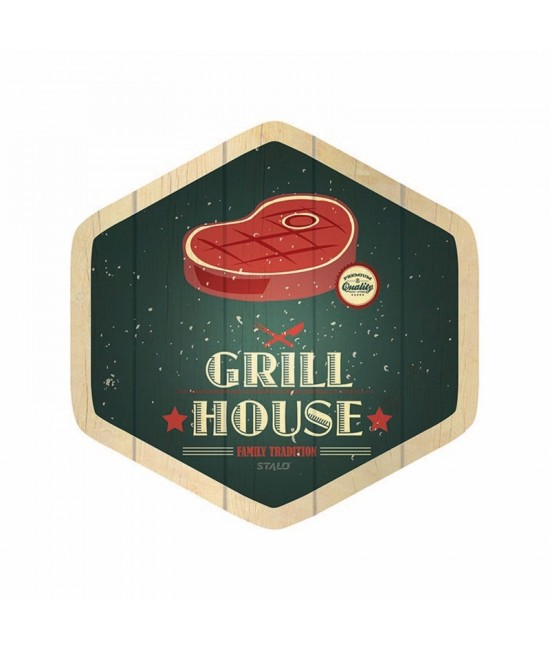Quadro Decorativo Grill House